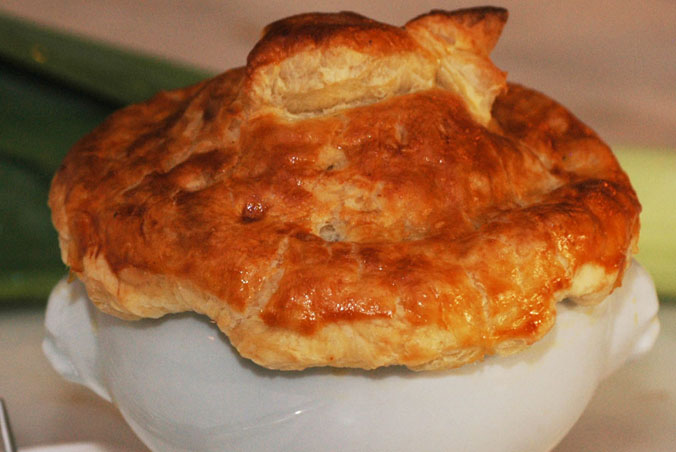 Trout and Leek Pot Pies