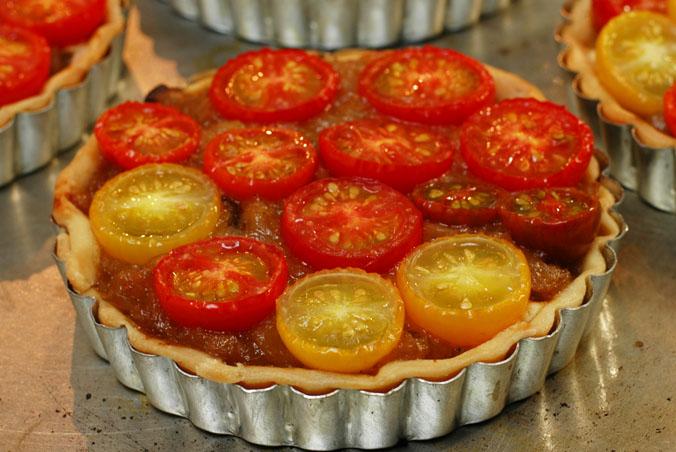 Individual Tomato Tarts
