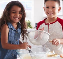 kids baking photo